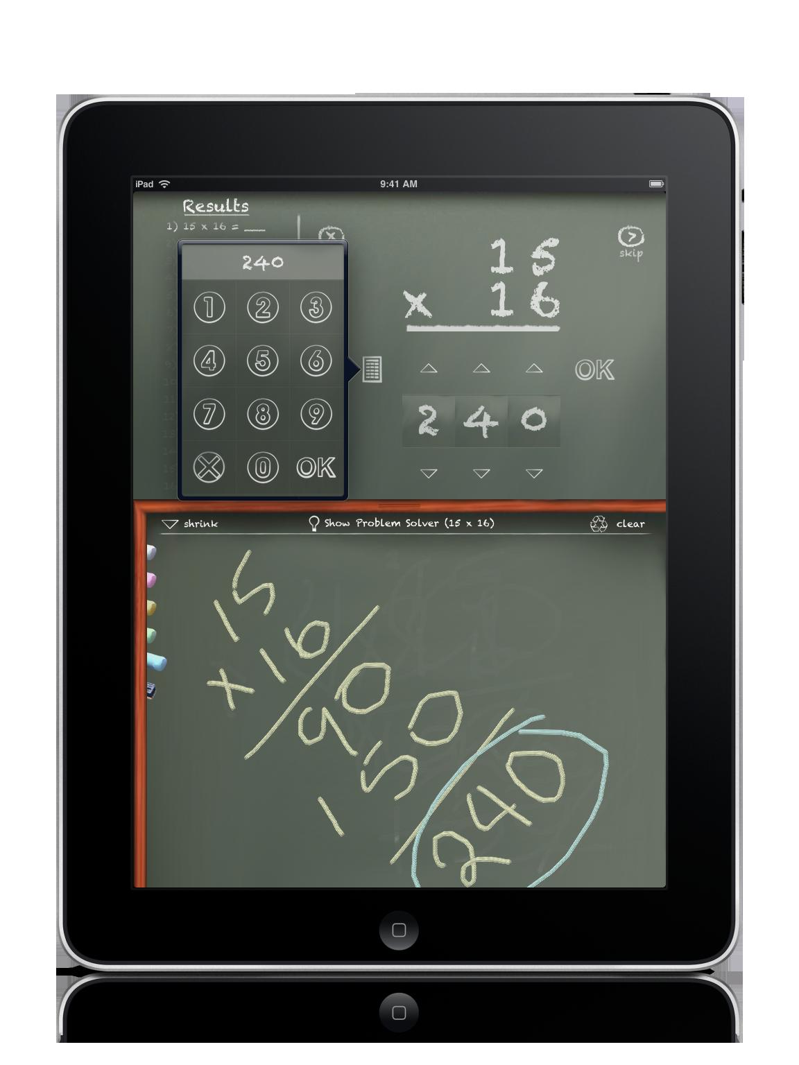 iPad Math